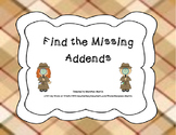 Find the Missing Addend Scoot