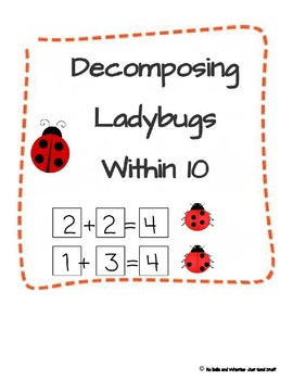 Find the Missing Addends (Ladybugs Theme)