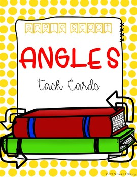 Find the Missing Angle Task Cards