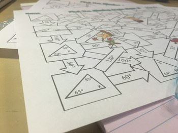 Find the Missing Angle in a Triangle Maze