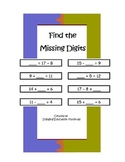 Find the Missing Digit with Addition and Subtraction