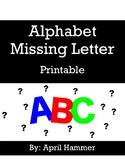 Find the Missing Letter (Alphabet)