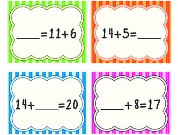 Find the Missing Number Freebie! (Write and Wipe Center)