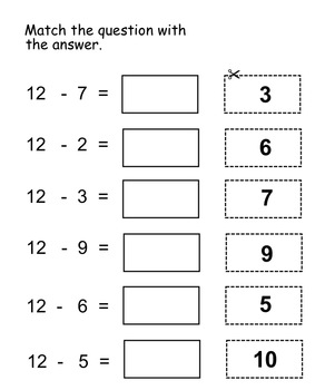 Find the Missing Number Printables