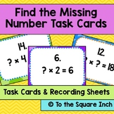 Find the Missing Number Task Cards