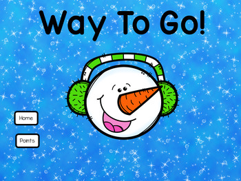 Find the Missing Number Within 20 Snowman Theme for PowerPoint