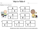 Find the Missing Part (Compose and Decompose Numbers to 10)