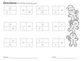 Find the Missing Part (Compose and Decompose Numbers to 20)