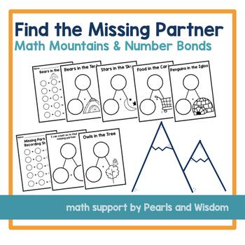 Find the Missing Partner | Missing Addend | Math Mountains | Number Bonds