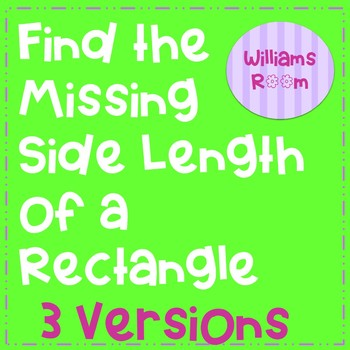 Find the Missing Side Length