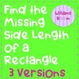 Find the Missing Side Length