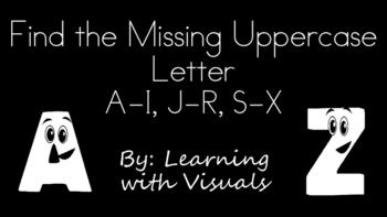 Find the Missing Uppercase Letter