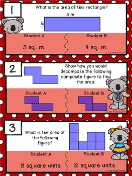 Find the Mistake: Area and Perimeter Bundle {Task Cards}