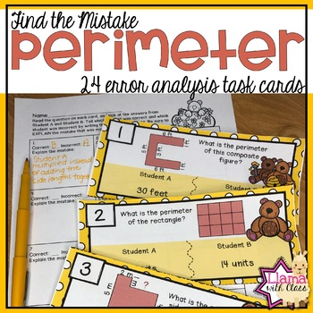 Find the Mistake: Perimeter