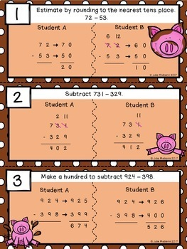 Find the Mistake: Subtraction
