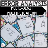 Error Analysis: Find the Mistake and Fix it! Multiplication Edition