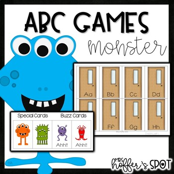 Monster Alphabet Game
