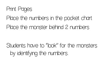Find the Monster {Number Game}