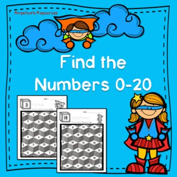 Numbers: Find the Numbers 0-20