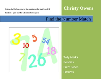 Find the Number Game
