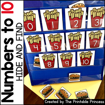 Find the Number - Pocket Chart Activities {Kindergarten Math: Numbers to 10}