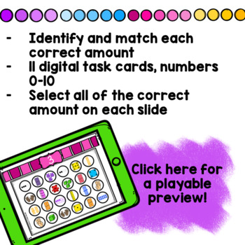 Find the Number Subitizing Boom Cards!
