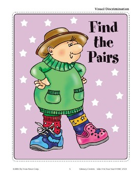 Find the Pairs (Visual Discrimination)