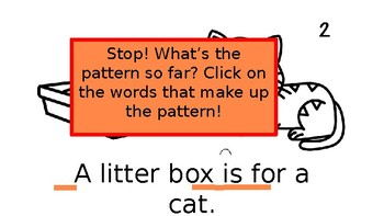 Find the Pattern Reading POWERPOINT!