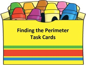 Find the Perimeter Task Cards