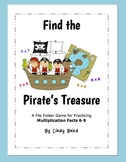 Find the Pirate's Treasure: Multiplication Facts 6-9