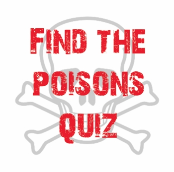 Find the Poisons Quiz