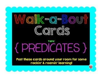 Find the Predicate Walk-a-Bout