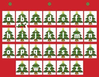 Find the Present - A Christmas Letter and Sound Recognition Game