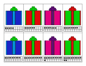 Find the Present Number Matching Game