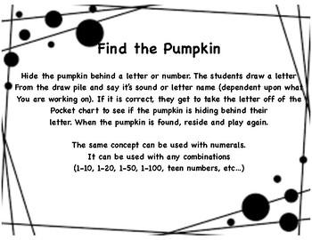 Find the Pumpkin
