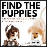 Find the Puppies! {an open ended game for ANY skill}
