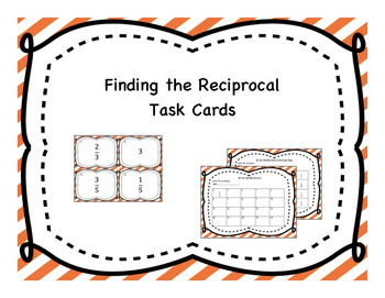 Find the Reciprocal Task Cards
