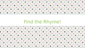 Find the Rhyme!