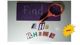 Find the Rhyme Freebie