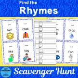 Find the Rhyme Scavenger Hunt