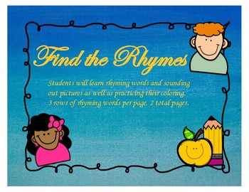 Find the Rhymes