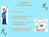 """Find the Rule"" Input/Output Table Smart Board Lesson Activity"