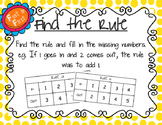 Find the Rule Math Center