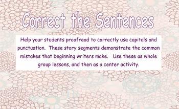 Find the Sentence: Correcting Run-on Sentences practice