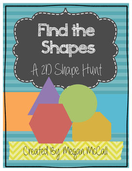 Find the Shape: A 2D Shape Hunt