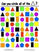 Find the Shape Activity Cards