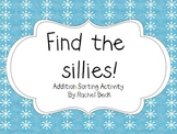 Find the Sillies! Addition Sorting