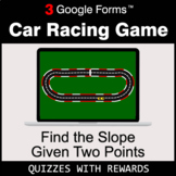 Find the Slope Given Two Points | Car Racing Game | Google Forms
