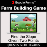 Find the Slope Given Two Points | Farm Building Game | Goo