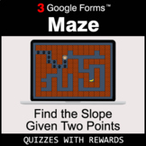 Find the Slope Given Two Points | Maze | Google Forms | Di